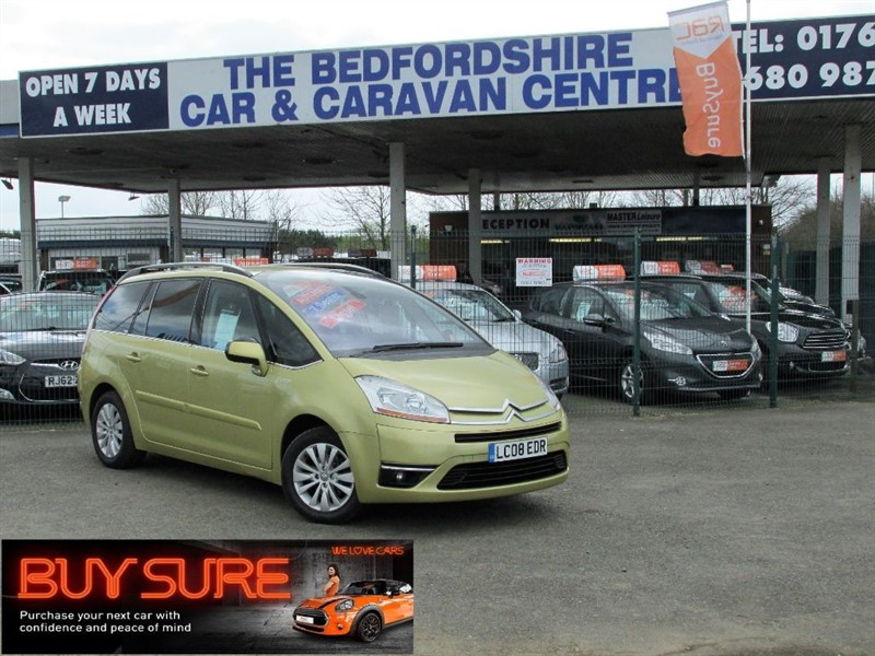 used Citroen C4 Picasso GRAND EXCLUSIVE HDI EGS in sandy-bedfordshire