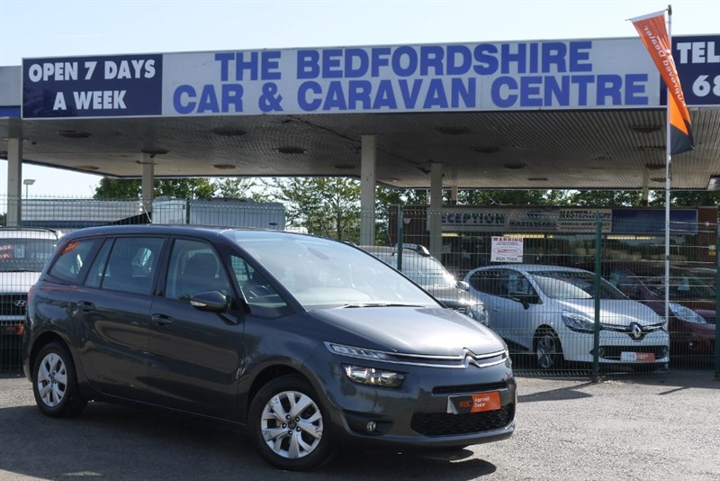 used Citroen C4 Picasso GRAND HDi VTR PLUS Automatic 7 seats £0 road tax! in sandy-bedfordshire