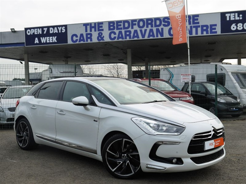 used Citroen DS5 HYBRID4 DSPORT EGS in sandy-bedfordshire