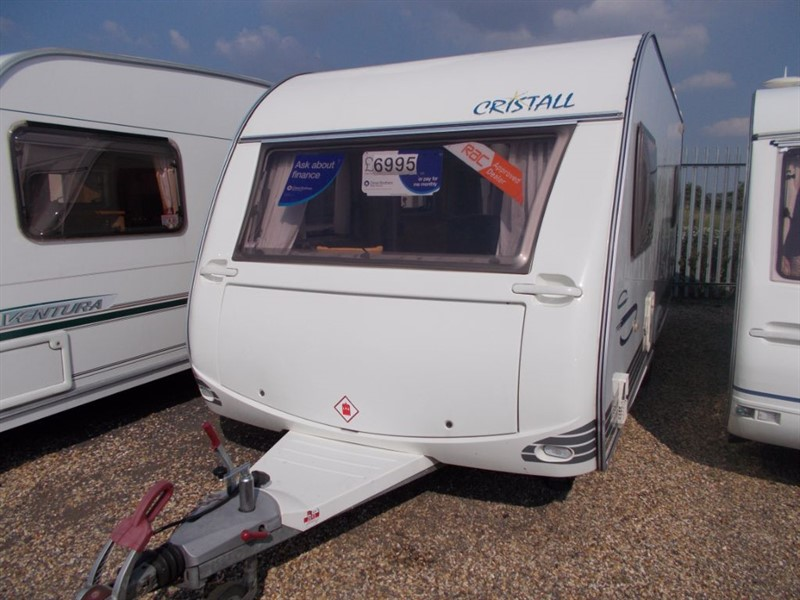 used Cristall  Moorea 530EB Fixed Bed in sandy-bedfordshire