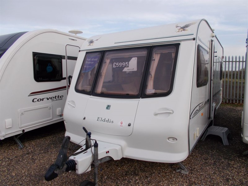 used Elddis Avante 534 Fixed Bed in sandy-bedfordshire