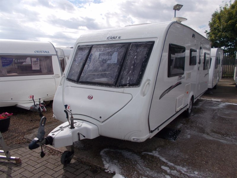 used Elddis  Avante 556/6 Berth Fixed Triple bunks   in sandy-bedfordshire