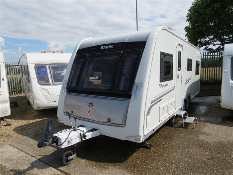 used Elddis Crusader Superstorm 6 Berth Double Lounge in sandy-bedfordshire
