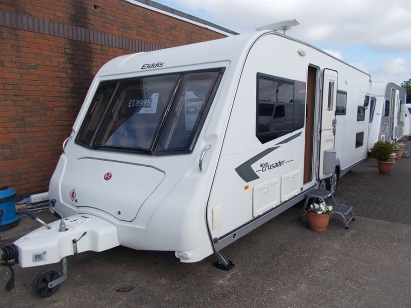 used Elddis Crusader Tempest 6 Berth in sandy-bedfordshire