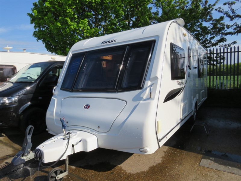 used Elddis Odyssey  540 Fixed bed 4 Berth in sandy-bedfordshire