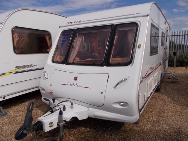 used Elddis Odyssey  Caravans wanted !! Sell me your caravan in sandy-bedfordshire