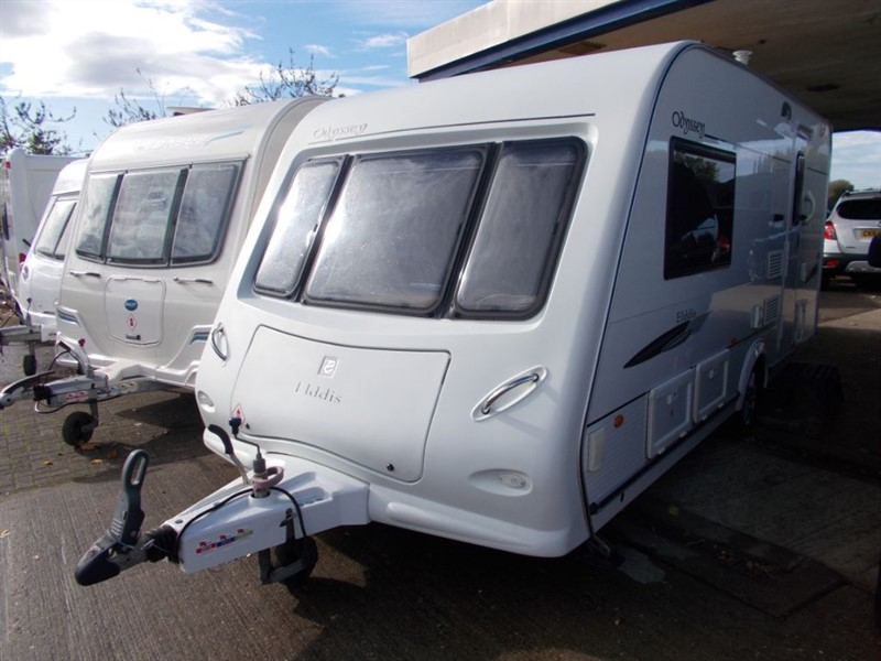 used Elddis Odyssey  482 2 berth End bathroom in sandy-bedfordshire