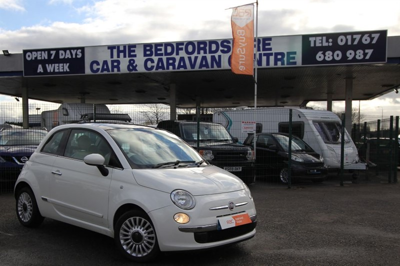used Fiat 500 LOUNGE    HIGH SPEC ZERO TAX ! in sandy-bedfordshire
