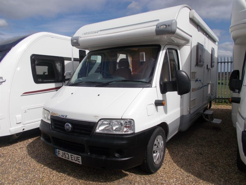 used Fiat Ducato Swift Sundance 600 Fixed Bed 15 LWB JTD in sandy-bedfordshire