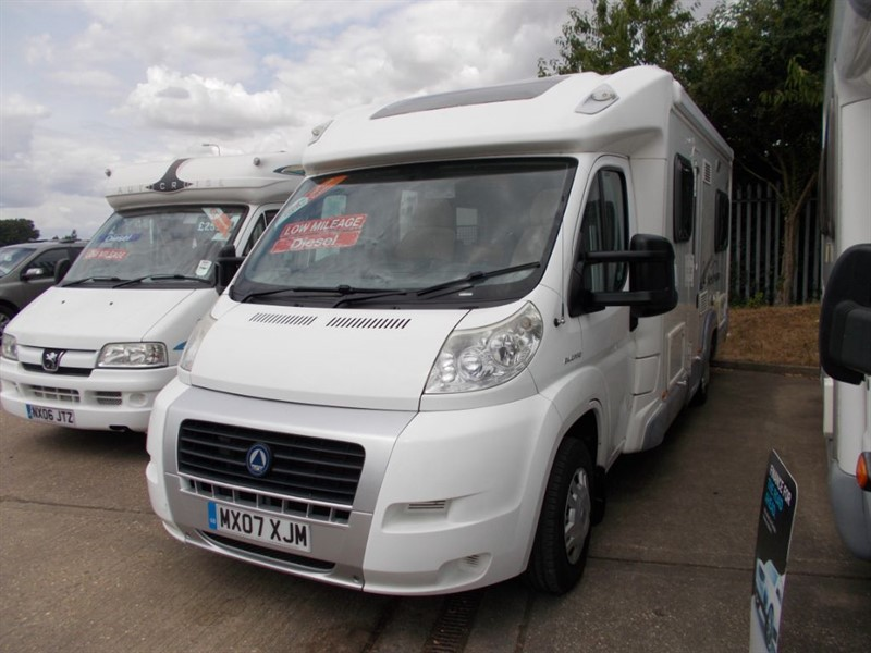 used Fiat Ducato Ace Airstream 680 FB in sandy-bedfordshire