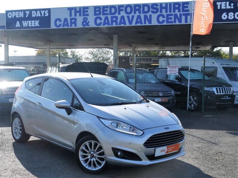used Ford Fiesta TITANIUM X TDCI in sandy-bedfordshire