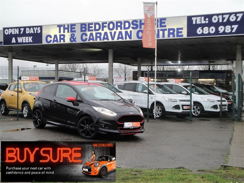 used Ford Fiesta ZETEC S BLACK EDITION in sandy-bedfordshire