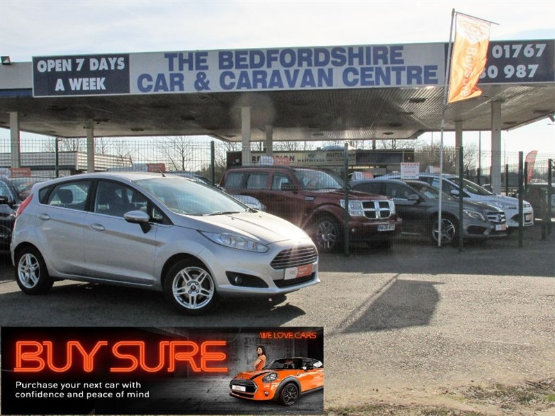 used Ford Fiesta ZETEC in sandy-bedfordshire