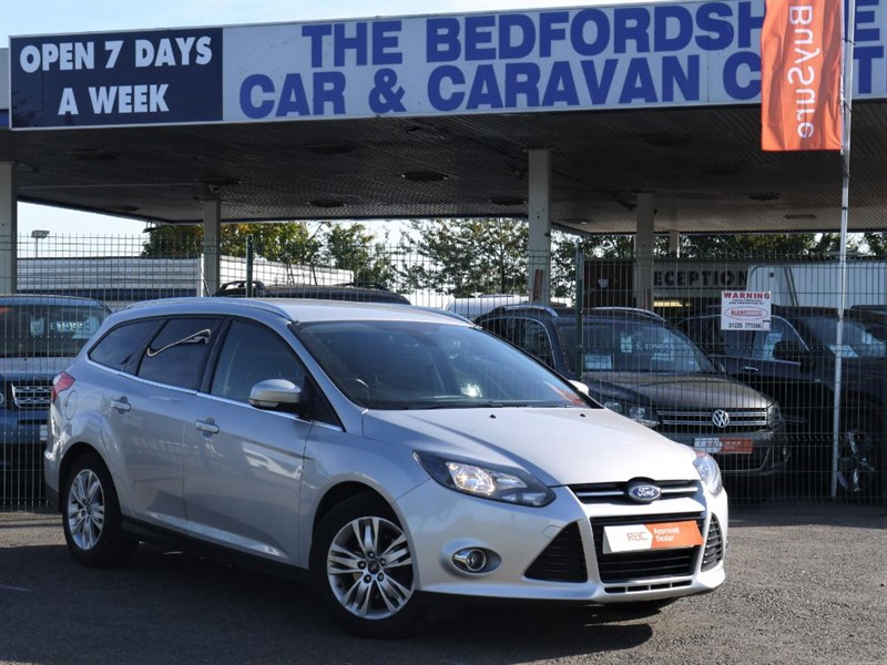 used Ford Focus 1.6 AUTOMATIC PETROL TITANIUM NAVIGATOR in sandy-bedfordshire
