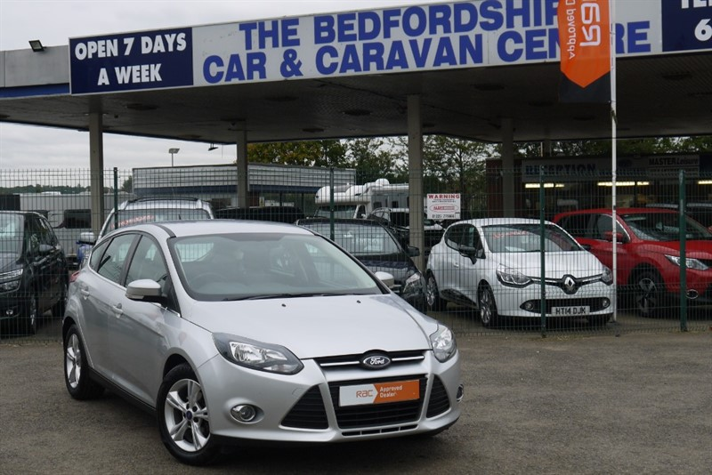 used Ford Focus 1.6 Petrol Zetec 5dr with City Pack in sandy-bedfordshire