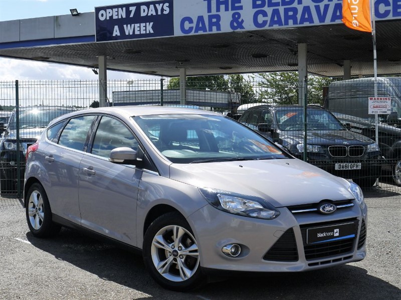used Ford Focus ZETEC in sandy-bedfordshire