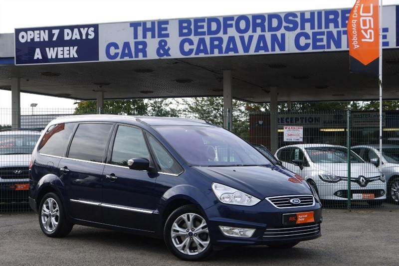 used Ford Galaxy TITANIUM TDCI  LOW MILES 7 SEAT AUTO - in sandy-bedfordshire