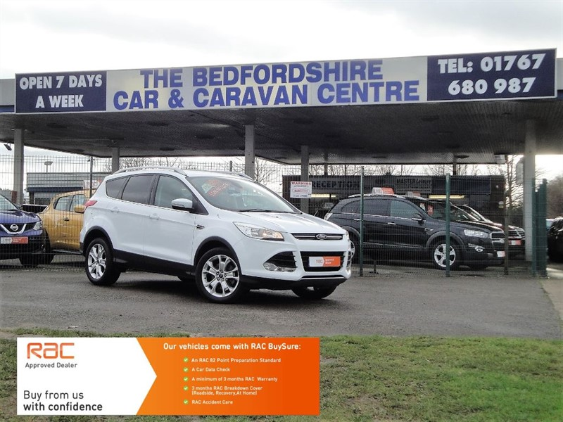 used Ford Kuga TITANIUM Buy With No Deposit Finance in sandy-bedfordshire