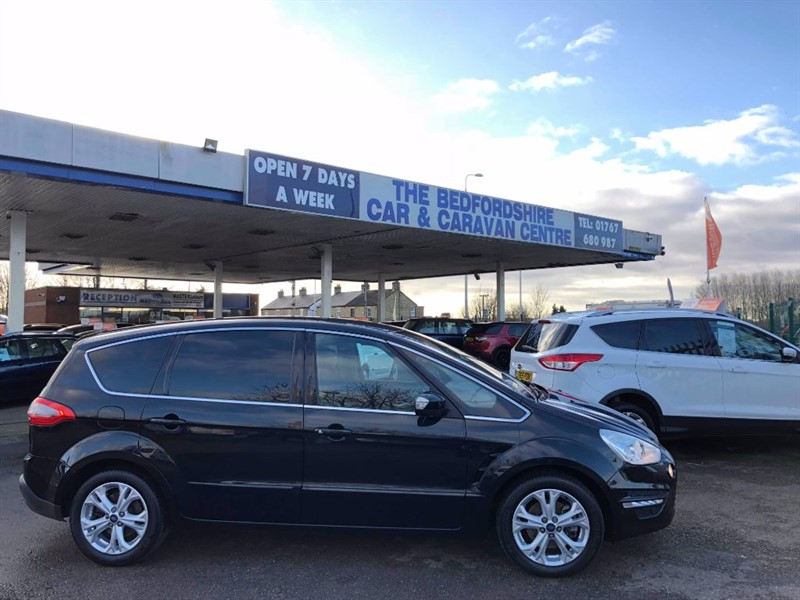 used Ford S-Max TITANIUM TDCI in sandy-bedfordshire
