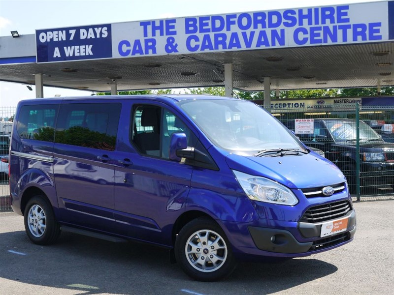 used Ford Tourneo Custom 300 LIMITED TDCI 9 SEATER FOR SALE WITH NO VAT in sandy-bedfordshire