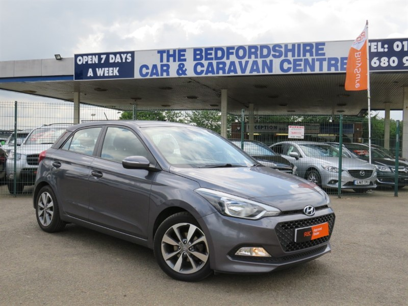 used Hyundai i20 MPI SE Full Main Dealer History in sandy-bedfordshire
