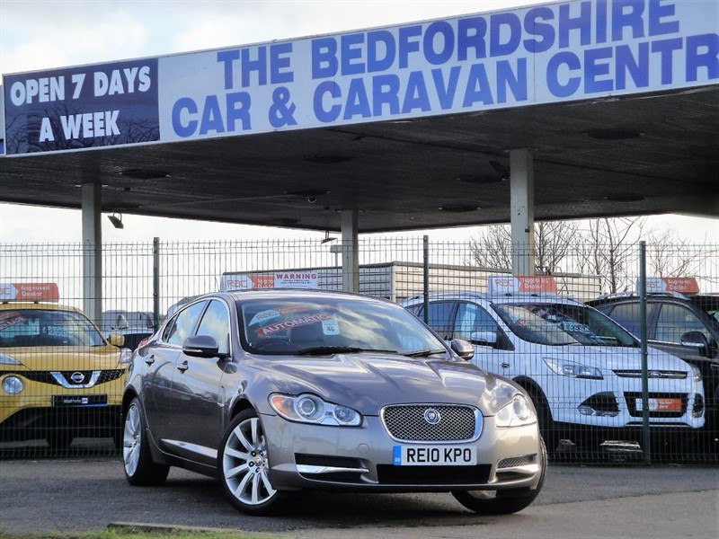 used Jaguar XF LUXURY V6 in sandy-bedfordshire