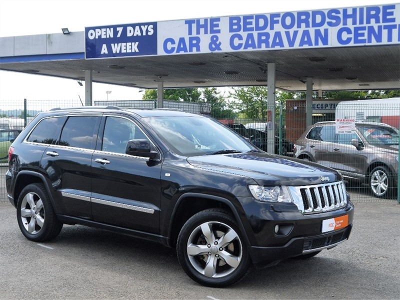 used Jeep Grand Cherokee V6 CRD OVERLAND in sandy-bedfordshire