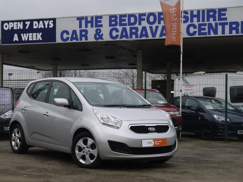 used Kia Venga Petrol Automatic 5 door in sandy-bedfordshire