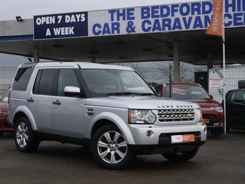 used Land Rover Discovery 4 SDV6 HSE in sandy-bedfordshire