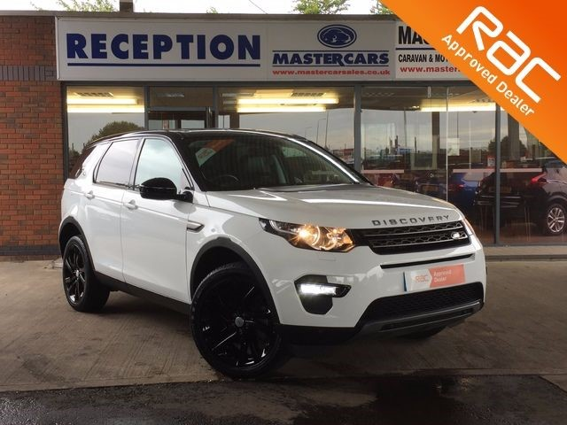 used Land Rover Discovery TD4 SE TECH For sale in Sandy Bedfordshire in sandy-bedfordshire