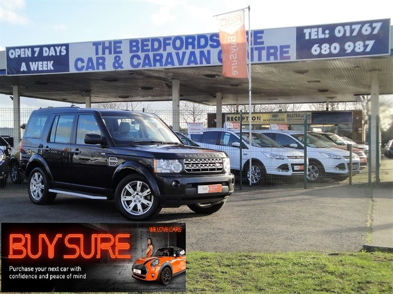 used Land Rover Discovery Black 3.0 Discovery 4 for sale in Sandy Bedfordshire in sandy-bedfordshire