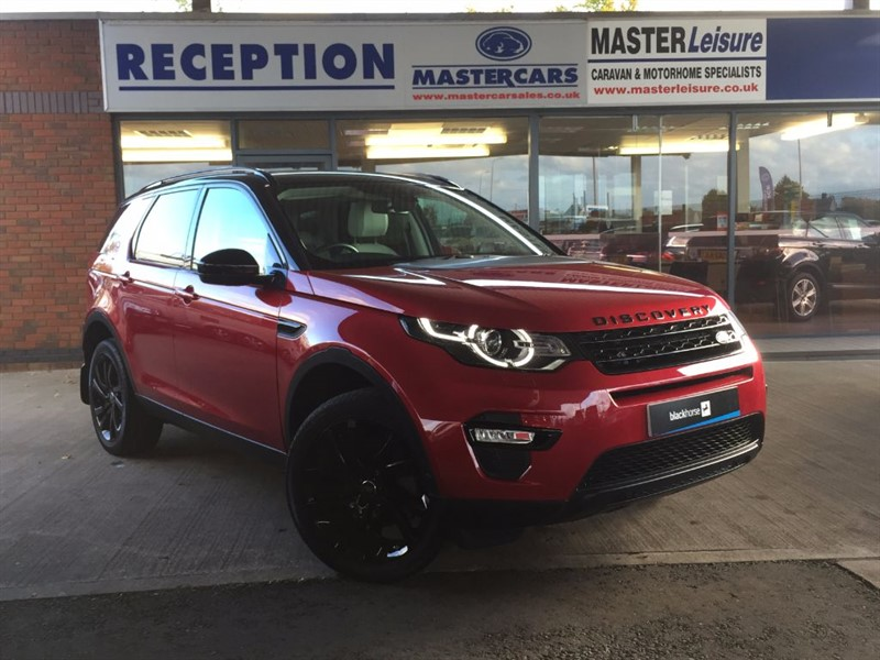 used Land Rover Discovery Sport TD4 HSE LUXURY  in sandy-bedfordshire