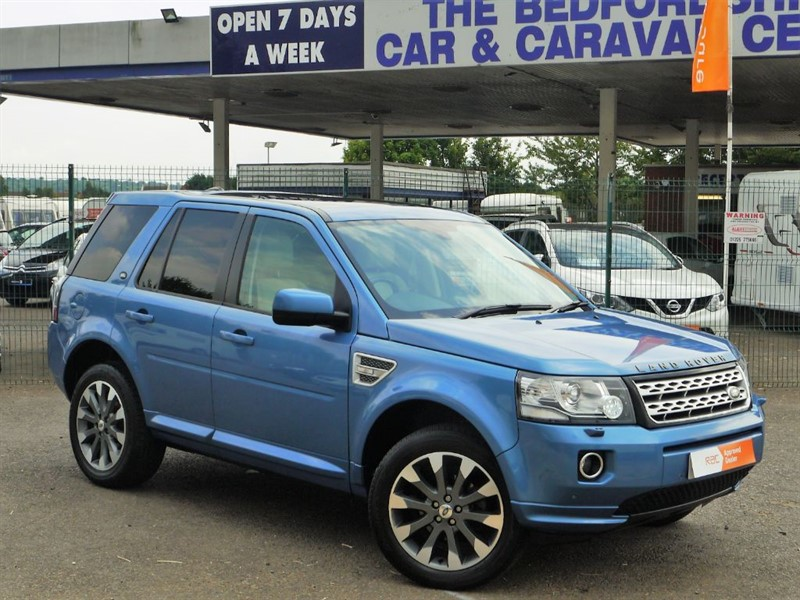 used Land Rover Freelander SD4 HSE LUXURY in sandy-bedfordshire
