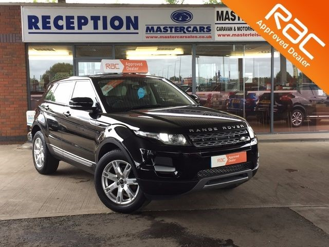 used Land Rover Range Rover Evoque RANGE ROVER EVOQUE SD4 PURE TECH for sale in Sandy Bedfordshire  in sandy-bedfordshire