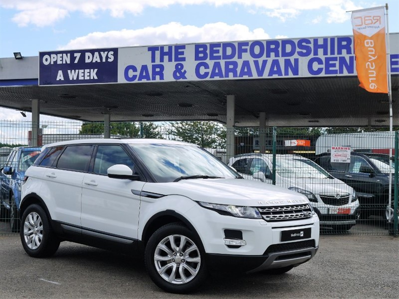 used Land Rover Range Rover Evoque Pure Tech SD4 with impressive spec in sandy-bedfordshire