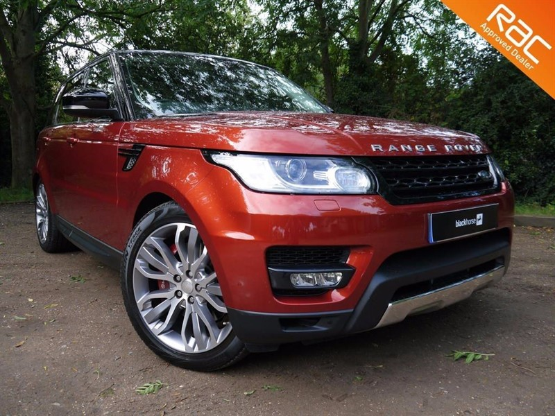 used Land Rover Range Rover Sport SDV6 HSE DYNAMIC in sandy-bedfordshire