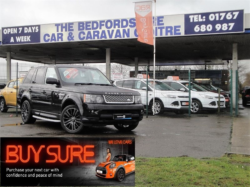 used Land Rover Range Rover Sport SDV6 HSE in sandy-bedfordshire