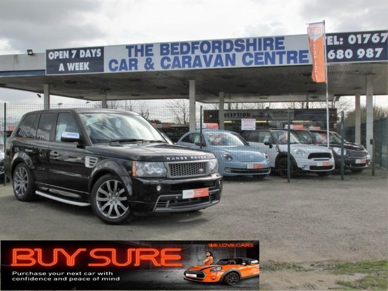 used Land Rover Range Rover Sport TDV6 STORMER EDITION in sandy-bedfordshire