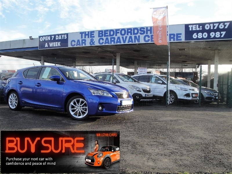 used Lexus CT 200h SE-L in sandy-bedfordshire