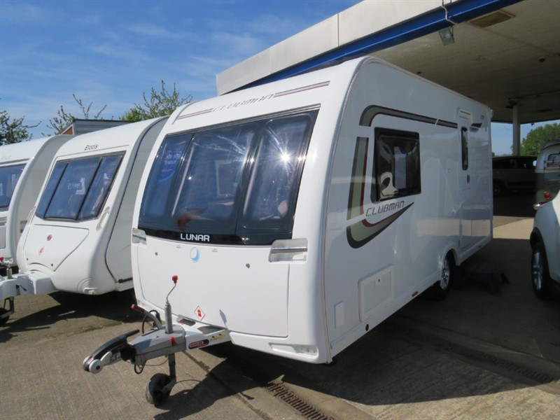 used Lunar Clubman CK 2 berth with Motor Mover in sandy-bedfordshire