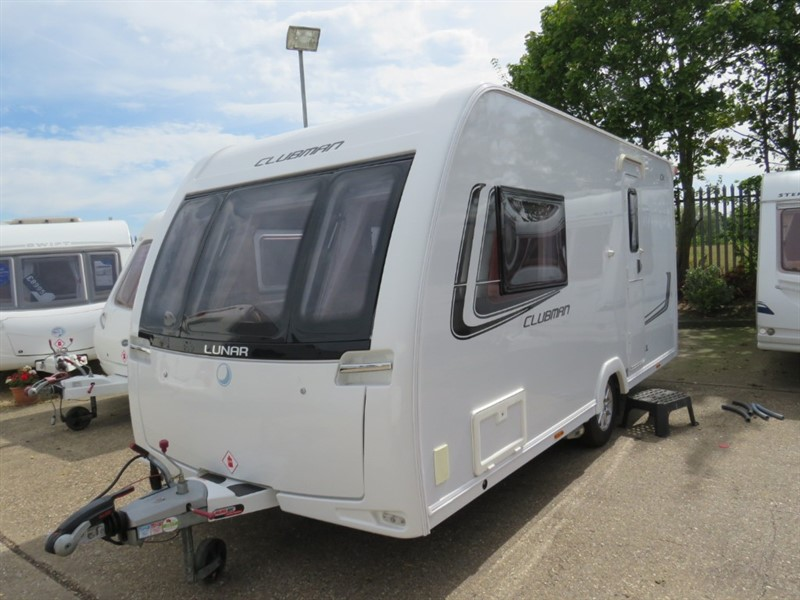 used Lunar Clubman CK 2 Berth With Air Awning and Motor Mover in sandy-bedfordshire