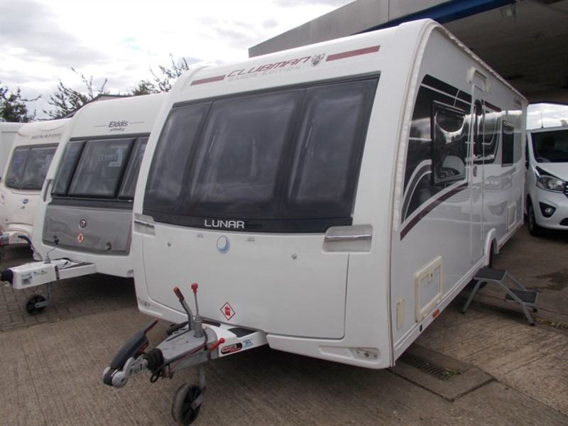 used Lunar Clubman Saros Special Edition Fixed bed in sandy-bedfordshire