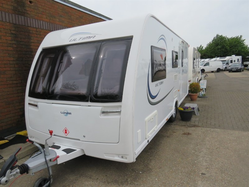 used Lunar Ultima 524 4 Berth with Side Dinette and Bunks in sandy-bedfordshire