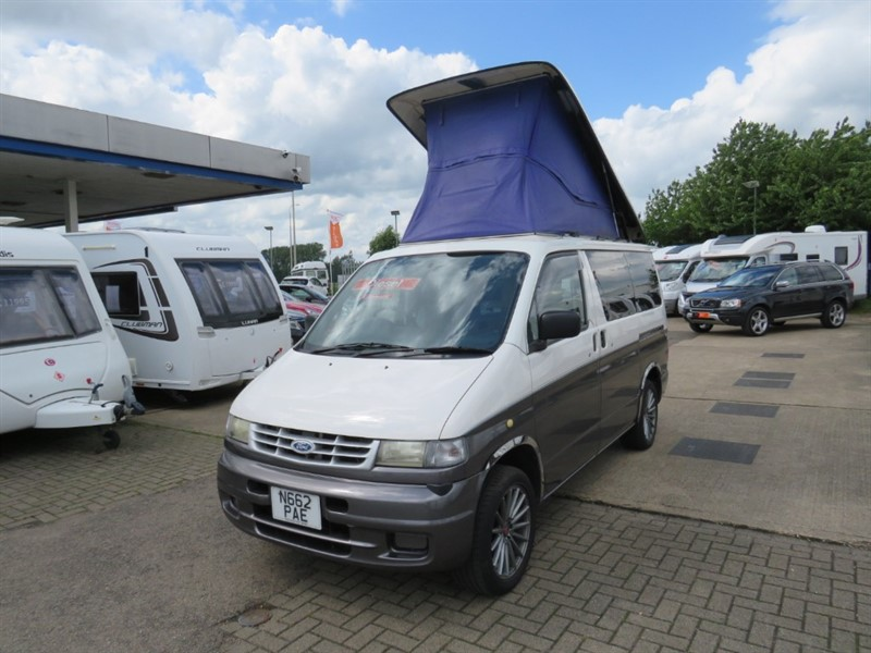 used Mazda Bongo Ford Freda Electric Pop Top in sandy-bedfordshire