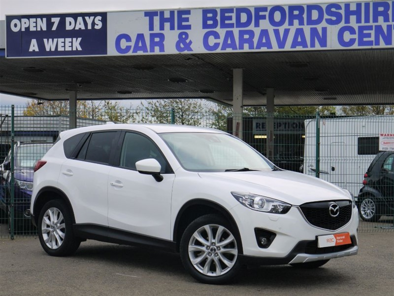 used Mazda CX-5 D SPORT NAV 4x4 AUTO £249 per month with just £1000 deposit in sandy-bedfordshire