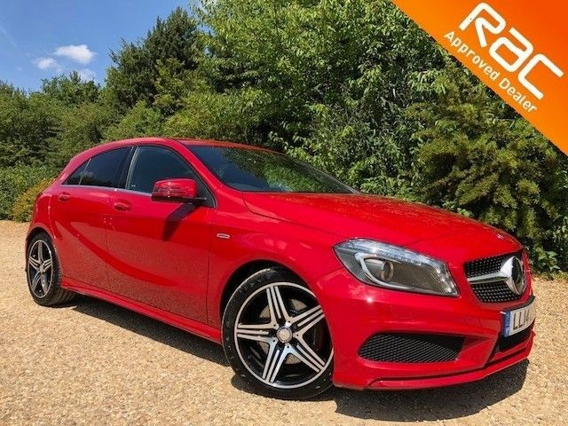 used Mercedes A250 BLUEEFFICIENCY ENGINEERED BY AMG in sandy-bedfordshire