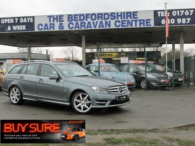 used Mercedes C220 CDI BLUEEFFICIENCY SPORT in sandy-bedfordshire