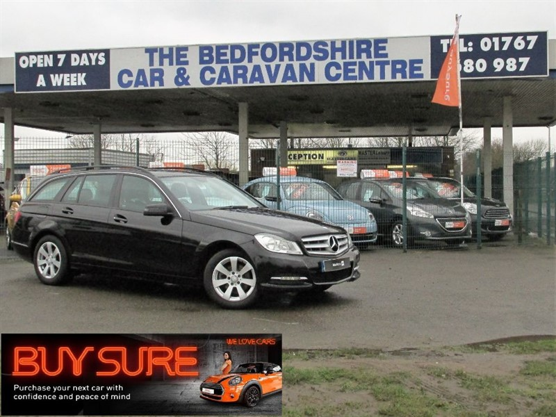 used Mercedes C220 CDI BLUEEFFICIENCY EXECUTIVE SE in sandy-bedfordshire