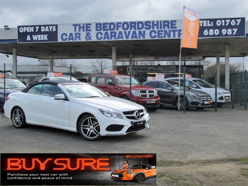 used Mercedes E220 BLUETEC AMG LINE in sandy-bedfordshire