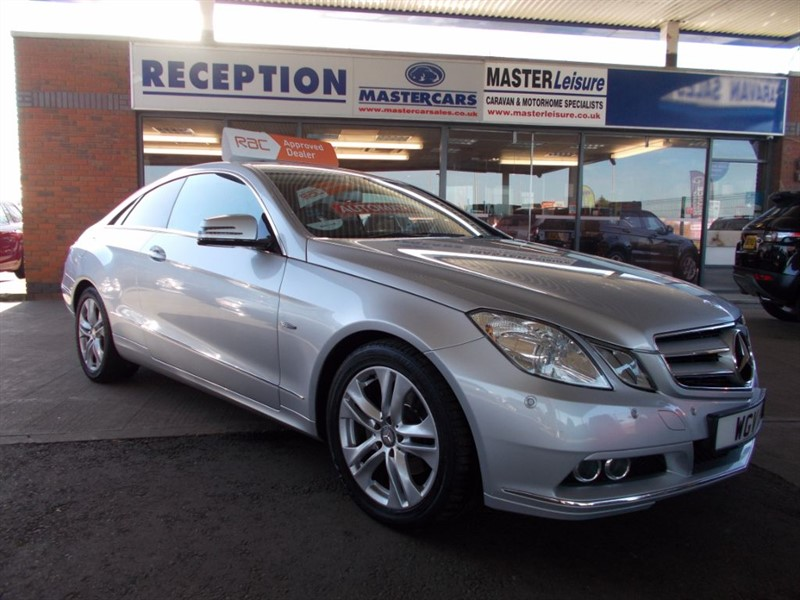 used Mercedes E220 CDI BLUEEFFICIENCY SE in sandy-bedfordshire